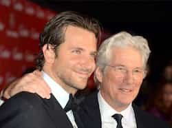 Bradley Cooper and Richard Gere arrive at the 24th annual Palm Springs International Film Festival Awards Gala at the Palm Springs Convention Center in Palm Springs, California. AFP Photo Jan 6: Day in pics