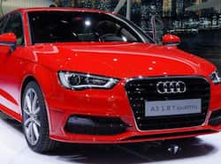 Audi A3 hatch shown at the Geneva. Saloon version to make it to India by year-end.  Geneva Motor Show