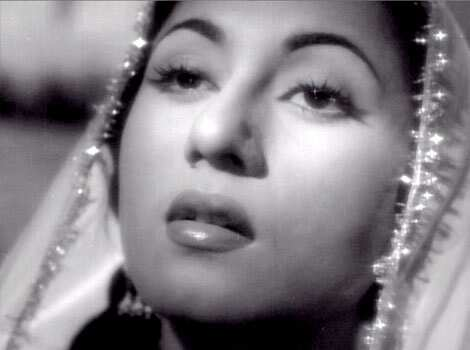 With Mahal, Bombay Talkies, Madhubala