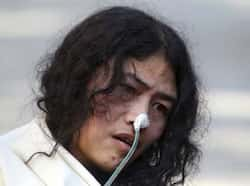 Irom Sharmila, who has been on a hunger strike for 12 years to protest anti-insurgency law in Manipur, speaks during a press conference, in New Delhi. Sharmila who has been force fed through a tube by authorities has been charged with attempted suicide in a case likely to bring major attention to her quiet protest in Manipur against the Armed Forces Special Powers Act. AP Photo Steadfast Irom Sharmila