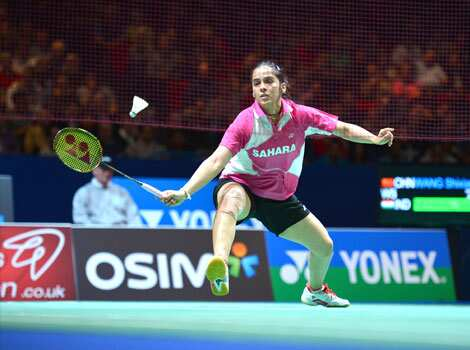 Saina Nehwal returns to China