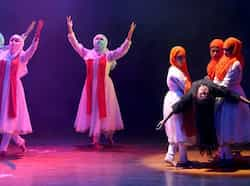 Artistes performing during Chandigarh dance festival at Tagore Theatre, Chandigarh. Keshav Singh/HT Region in Pics