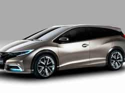 Honda Civic Wagon concept revealed Honda Civic Wagon concept revealed