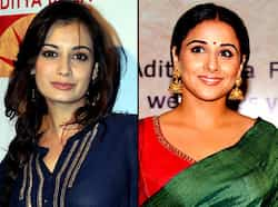 Vidya Balan looked at her traditional best in a green sari at Bawraas, a live performance event in Mumbai. Other Bollywood actors like Diya Mirza were also present at the event. Take a look. Vidya Balan shines at Bawraas