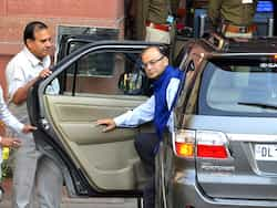 Image result for Arun Jaitley with his BMW and a Honda Accord. image