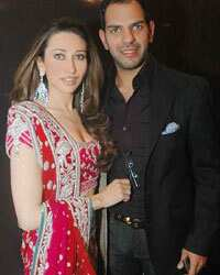 Karisma and husband