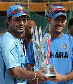 Dhoni and Sangakarra