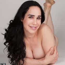 Octomom Nadya Suleman posed nude to reveal her post-pregnancy body for ...