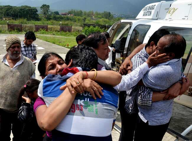 India stands united to help flood-hit Uttarakhand | india
