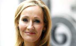 Author JK Rowling:
