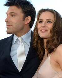 Ben Affleck and Jenifer Garner