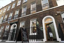 Dickens lived in the house from 1837 until 1839. Photo: AFP  Charles Dickens Museum in London