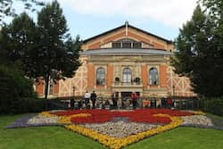 The Festspielhaus is the home of the Wagner Festival, which draws some 60,000 devotees every year.  Opera houses around the world