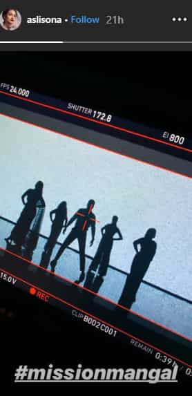 Sonakshi Sinha Shares A Silhouette-Only Photo FromMission Mangal's Shoot
